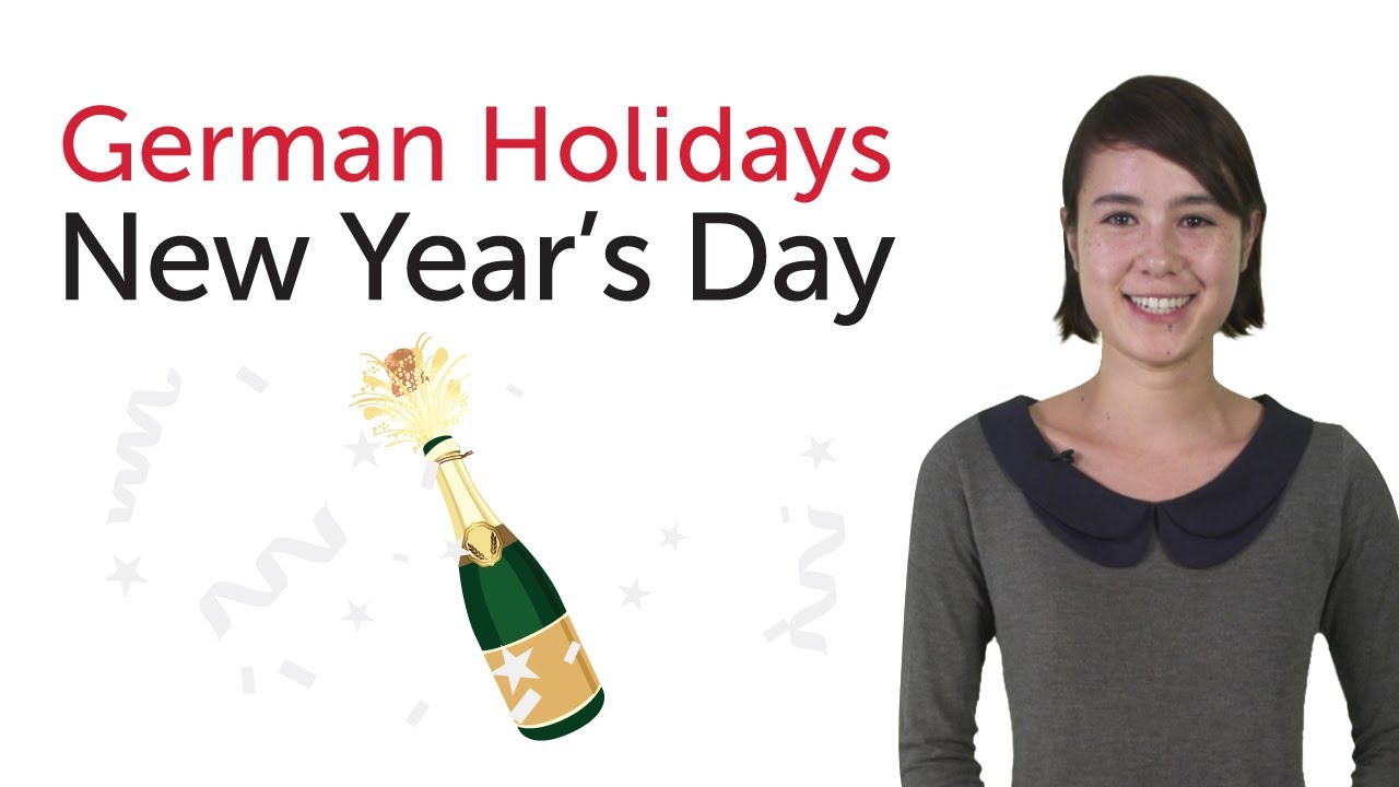 Learn German Holidays – New Year's Day