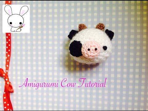 amigurumi tutorial - mucca