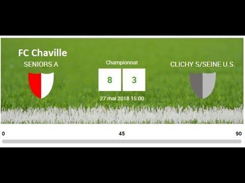 FC CHAVILLE VS CLICHY/SEINE 27/05/2018