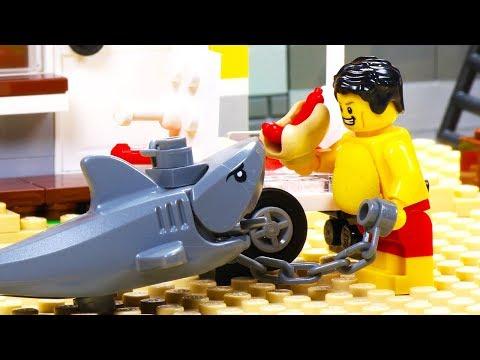 Download Video Lego Shark Attack - Fat Lego