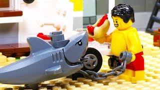 Video Lego Shark Attack - Fat Lego MP3, 3GP, MP4, WEBM, AVI, FLV Juni 2018