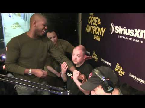 UFC's Jon Jones CHOKES and PUNCHES Jim Norton - @OpieRadio
