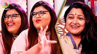 Video 'She Doesn't Like Kushboo Idly' : Anandita Interview About Her Parents | Sundar C | Tamil Cinema MP3, 3GP, MP4, WEBM, AVI, FLV Februari 2019