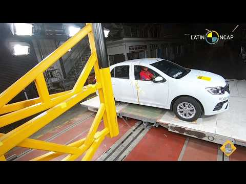 Crash Test Renault Sandero LatinNCAP