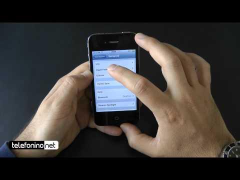ios 5 - Apple iOs 5 su iphone 4 da Telefonino.net.