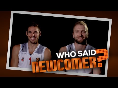 Who said newcomer? Fabien Causeur and Vladimir Veremeenko, Brose Bamberg