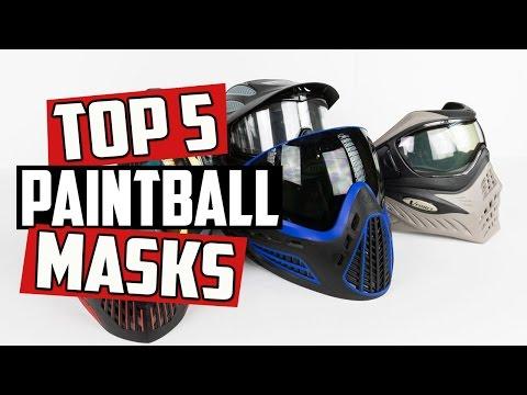 Top 5 Paintball Masks - 4K