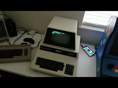 Loading programs into Commodore PET using uCassette adapter and TapDancer