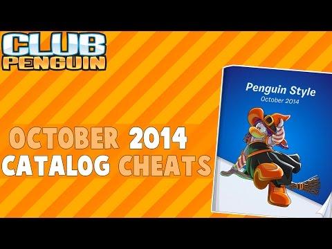 Club Penguin: October 2014 Halloween Clothing Catalog Cheats