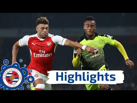 Arsenal 2-0 Reading - Tuesday 25th October 2016, EFL Cup, Fourth Round (2016/17 Highlights)
