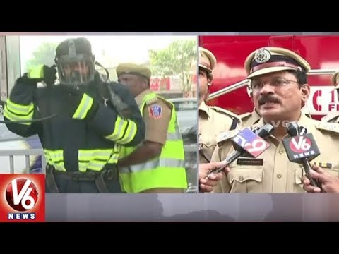 Fire Department Officials Conducts Mock Drill In All Metro Stations | Hyderabad