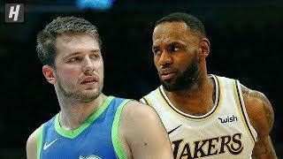 Dallas Mavericks vs Los Angeles Lakers - Full  Highlights   December 1, 2019   2019-20 NBA Season