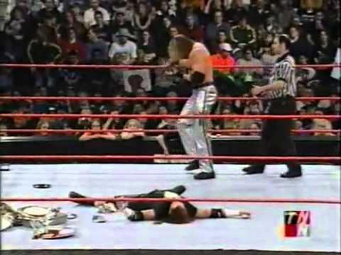 WWE RAW - Raven vs Test - Hardcore Championship Match *01/15/2001*