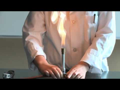 How To Light A Bunsen Burner