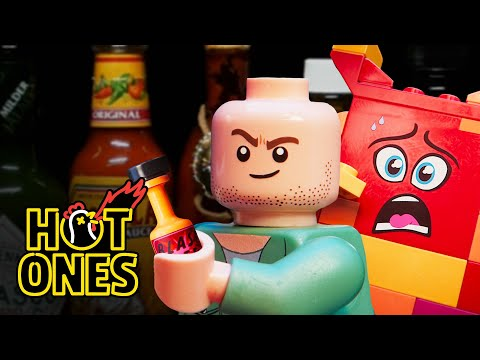 LEGO Sean Evans Interviews Queen Watevra Wa'Nabi | Hot Ones