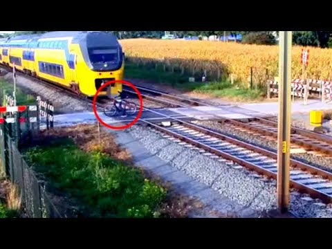 10 MOST Scary Close Calls Caught On Camera PART 2