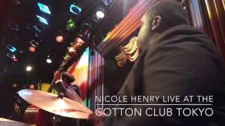 Nicole Henry Live at The COTTON CLUB TOKYO