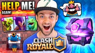 "Clash Royale - I'm addicted! Please help me get better by leaving tips! :D► Watch ALL my Clash Royale videos here - https://www.youtube.com/playlist?list=PLZ53q68oHkKbXx60cOT-4K_Gum5mIUt1HEnjoyed the video? Hit 👍 ""LIKE"" 👍 - Thank you!Hey there - I'm Ali-A! Thanks for watching one of my videos! :) This is my channel where I play ANY games I'm having fun playing to share with YOU all. Make sure you're checking out more of my videos and ""SUBSCRIBE"" to be notified every time I upload. Thanks - Enjoy the video! :D► NEW Ali-A Merch!• Store - http://AliAShop.com► Follow me!• Facebook - http://facebook.com/AliAarmy• Twitter - http://www.twitter.com/OMGitsAliA• #AliAapp (iOS) - http://tinyurl.com/9u5h3d8 • #AliAapp (Android) - http://tinyurl.com/bz8kjbs• Host your own Minecraft servers here:http://gizmoservers.com (""AliA"" 20% off)• Cheapest games - https://www.g2a.com/r/AliA• The headset I use - http://bit.ly/1dXHELh• How I record ALL my gameplay:http://e.lga.to/aSubscribe for more videos!- MoreAli-A---Video uploaded & owned by Ali-A! (PG, Family Friendly + No Swearing!)"