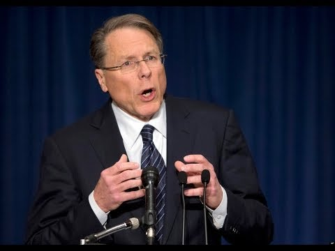 coming - Wayne LaPierre of the NRA keeps telling people that Obama is coming for their guns http://www.addictinginfo.org/2014/03/04/wayne-lapierre-warns-obama-comin...