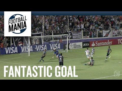 Barreto slices through Corinthians defence for consolation goal
