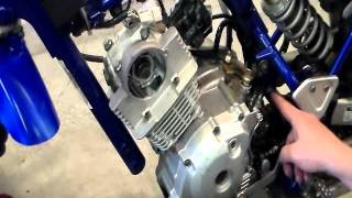 10. How to Rebuild Top End for Yamaha TTR125 Part II Assembly
