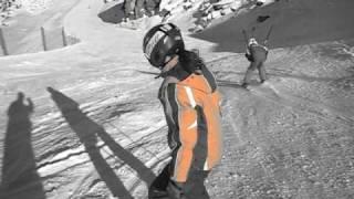 Grachen Switzerland  City new picture : Vanessa, Dominic - Ski downhill Grächen - Switzerland
