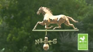 Horse Weathervane - Good Directions