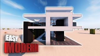 Minecraft: How To Make A Small Modern House Tutorial ( SMALL & COMPACT ) PS3, PS4, XBOX, MCPE, PC