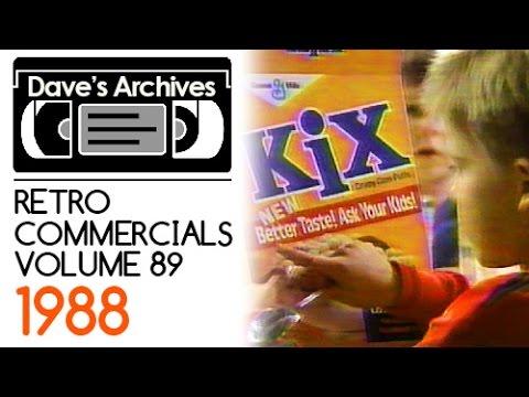 Retro Commercials: Vol 89 (1988 HD)