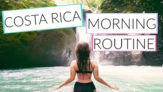 Here's a new morning routine, Costa Rica style. Follow me on Instagram here ↠ http://Instagram.com/carrierad Subscribe to my...