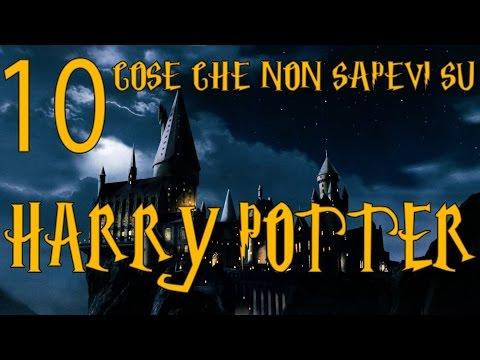 10 cose che non sapevi su harry potter