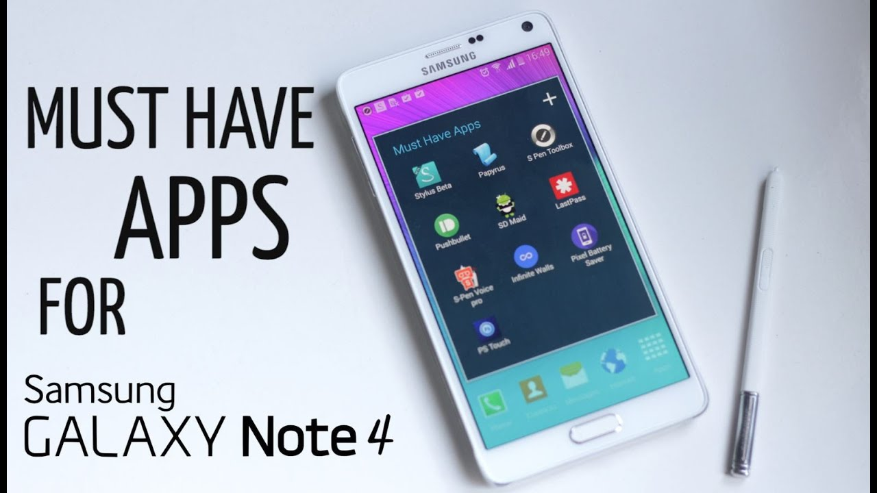 Descargar 10 Best Must Have Apps for Galaxy Note 4 para Celular  #Android