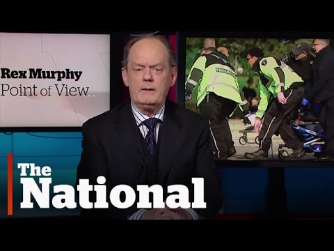 Ottawa - Rex Murphy shares his thoughts on today's tragic events in Ottawa.