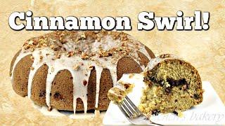 Cinnamon Swirl Coffeecake - Brown Sugar Pecan Filling by Gretchen's Bakery