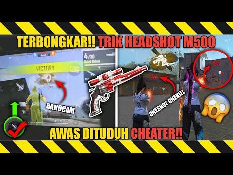 AUTO HEADSHOT❗TRIK RAHASIA MUDAH HEADSHOT MENGGUNAKAN M500   TRIK HEADSHOT FREE FIRE TERBARU