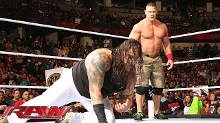 John Cena vs. Bray Wyatt: Raw