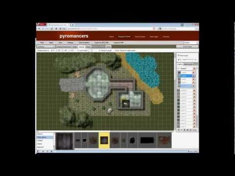Vorstellung: Pyromancers.com Dungeon Painter Online