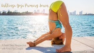 https://omstars.com/#/ashtangaKino MacGregor's Ashtanga Yoga Primary Series course is a comprehensive practice program that brings a fresh, new perspective on this traditional method of yoga. Whether you're a yoga novice interested in starting or a dedicated Ashtangi looking for renewed inspiration, this course is for you! Complete with 14 classes, over six hours of content including a full length Primary Series practice and lots of tutorials that break down the most challenging movements of the practice. Everything from backbends to twists to powerful lift-ups, you will have everything you need to dive into Ashtanga Yoga. Join OmStars today to unlock this course and over 300 other classes. Yoga is spiritual practice that has the power to change your life. The Ashtanga Yoga Primary Series is a set sequence of postures that will open your mind and heart to the essence of the yoga lineage. This practice is both timeless and traditional, accessible to all levels and totally transformational. Regular practice builds a powerful internal fire that detoxifies the inner organs, tones the body and increases flexibility. Kino has been practicing Ashtanga Yoga for nearly 20 years and is one of only a few select students to receive Certification to teach by her guru, Sri K. Pattahbi Jois in Mysore, India. Her approach and teaching style is both funny and personal and you will feel like you have a friend along your yoga journey.Practice with me on OmStars commercial free! Over 400 classes and thousands of hours of content: http://www.omstars.com. If you're looking for yoga videos that will show you the perfect way for you to start your yoga journey then Kino MacGregor's yoga channel is perfect for you! Whether you are new to yoga or an advanced yoga student you will find a full yoga library with all the yoga postures that you need to develop a complete yoga practice. Yoga is more than just a physical practice yoga is a lifestyle that includes living a peaceful life. Living the y