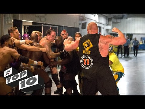 Brutal Backstage Brawls: WWE Top 10