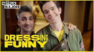 Video Tan France Gives John Mulaney a Hypebeast Makeover   Dressing Funny   Netflix Is A Joke MP3, 3GP, MP4, WEBM, AVI, FLV September 2019
