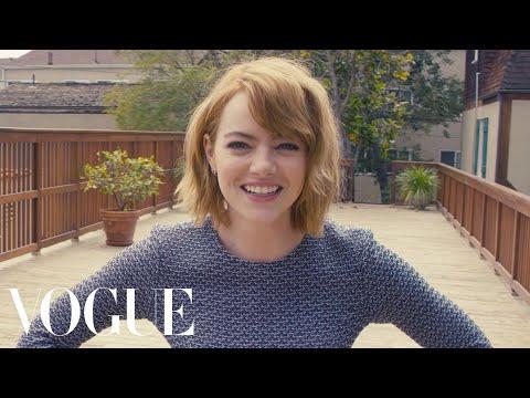 Emma Stone Answers 73 Random Questions for Vogue