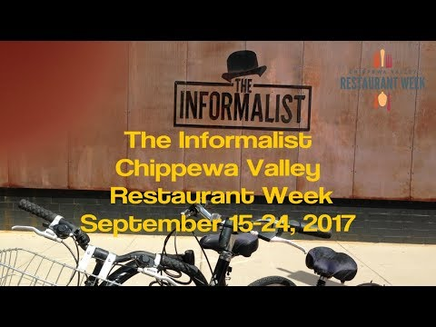 The Informalist - Chippewa Valley Restaurant Week - Eau Claire WI - Sept 2017