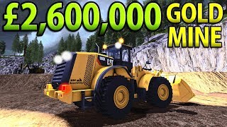 Video £2,600,000 GOLD MINE | Farming Simulator 2017 MP3, 3GP, MP4, WEBM, AVI, FLV Oktober 2017