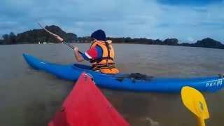 Tasoh Lake Malaysia  city photos gallery : Kayaking At Timah Tasoh Lake , Malaysia