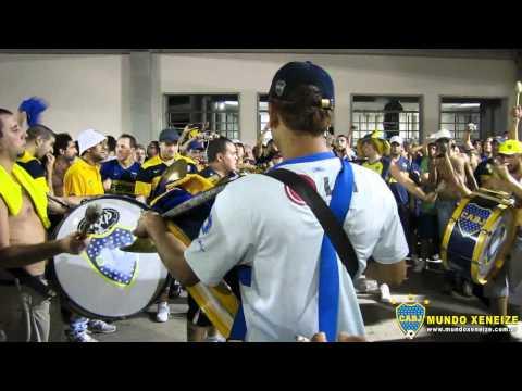 Festival de Bombos en Rio - Fluminense 1 Boca 1 - La 12 - Boca Juniors - Argentina - América del Sur