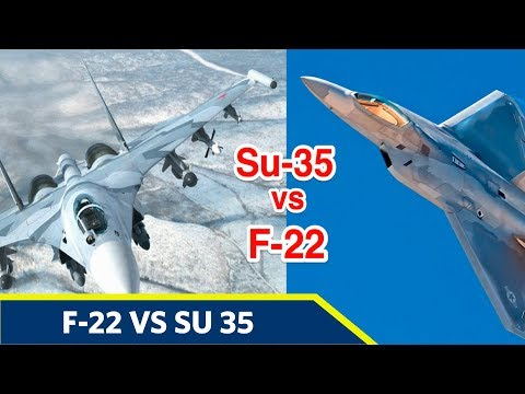 F-22 Raptor Vs Su-35 Flanker E...