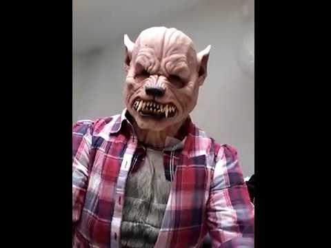 Mon costume de loup garou halloween 2017