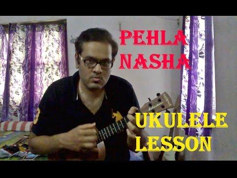Video Pehla Nasha | Ukulele Lesson For Beginners download in MP3, 3GP, MP4, WEBM, AVI, FLV January 2017