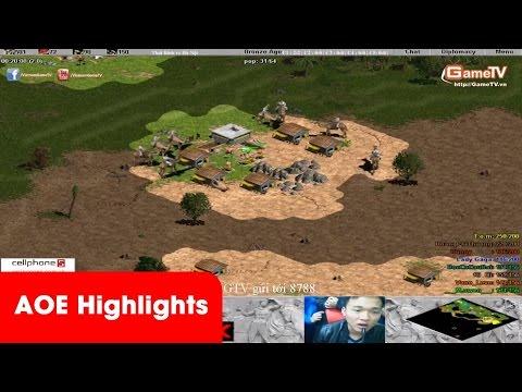 AOE Highlights, Horse đời 4 bị lạc đà Palmyral đuổi chạy nhông kèn khắp bản đồ. 19