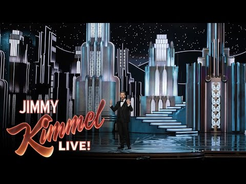 Jimmy Kimmel on Oscars Set Collapse